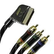 DV 1860 Kabel SCART-3RCA High-End Da Vinci 1,6 m HF8SK-CR